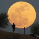 La superluna llamó la atención del mundo